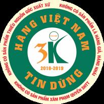 Chứng nhận Hàng Việt Nam Tin Dùng