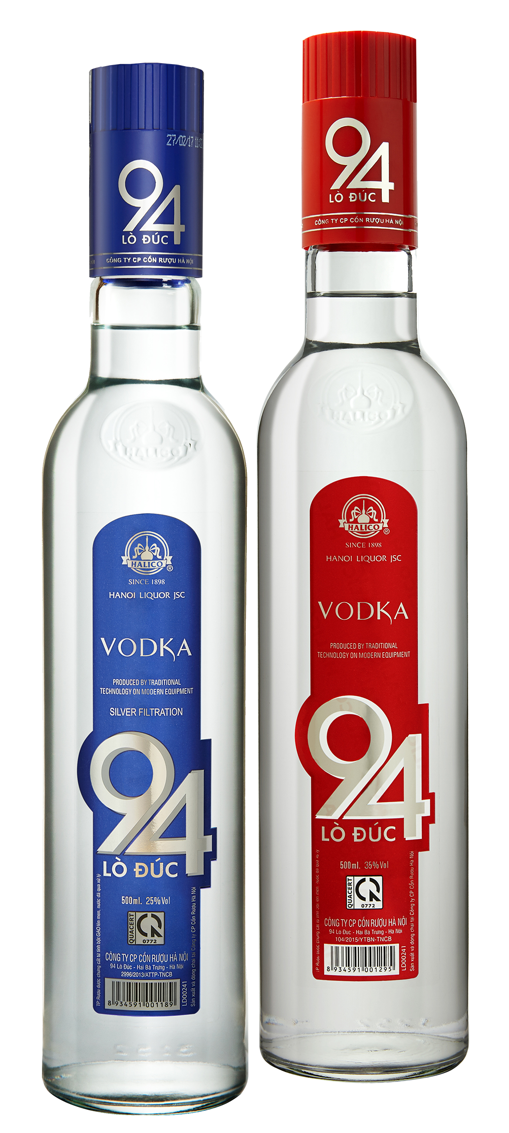 VODKA 94 LÒ ĐÚC