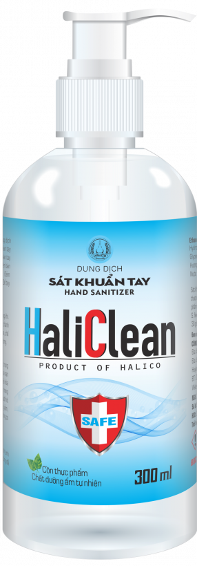 HALICLEAN – HAND SANITIZER
