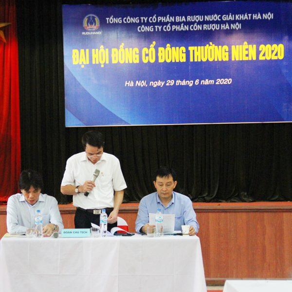 Halico tổ chức thành công Đại hội đồng Cổ đông thường niên năm 2020