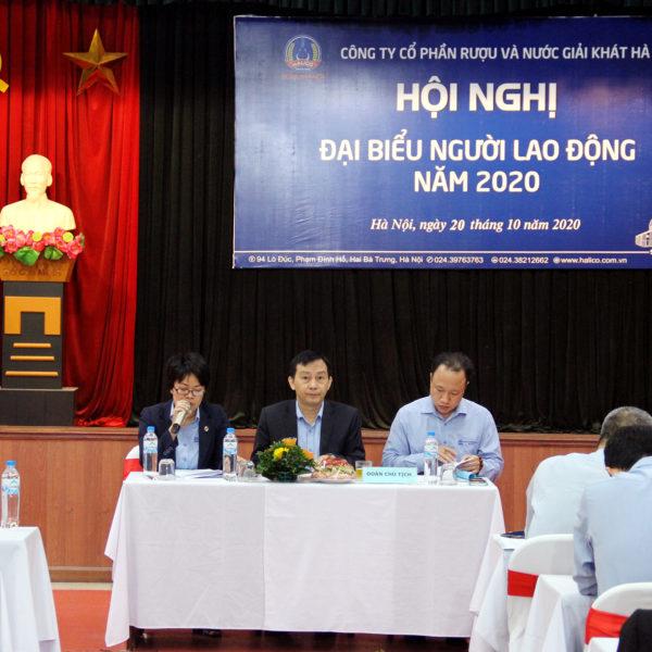 Halico Tổ chức Hội nghị Đại biểu Người lao động 2020