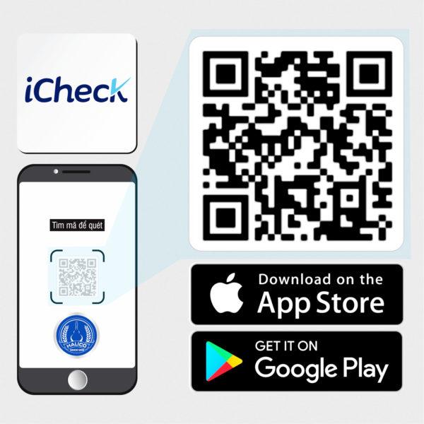 Hướng dẫn sử dụng phần mềm iCheck <br> để quét mã vạch sản phẩm Halico